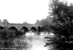 Bathampton, Bridge And Weir 1907