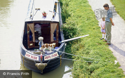 Canal Boat, Kennet And Avon Canal 1996, Bathampton