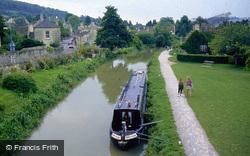 Kennet And Avon Canal From Bridge 1996, Bathampton