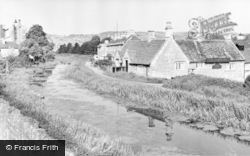 Bathampton, The Kennet And Avon Canal c.1960
