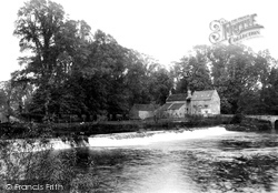 Bathampton, The Weir And Mill 1907