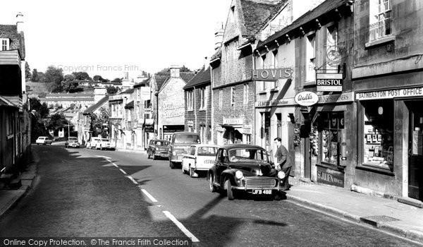 Batheaston, High Street c.1960