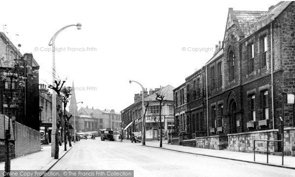 Batley, Branch Road c.1955