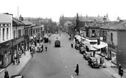 Batley, Commercial Street c1955