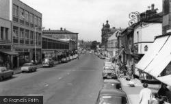 Batley, Commercial Street c.1965