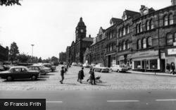 Market Square c.1965, Batley