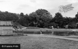 Batley, Paddling Pool, Wilton Park c.1955