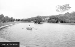 Batley, Park Lake c.1955