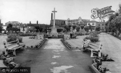 Batley, The Gardens c.1965