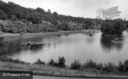 The Lake c.1955, Batley
