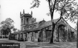 The Parish Church c.1965, Batley