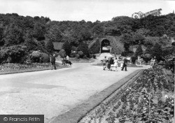 Batley, Wilton Park Entrance c.1955