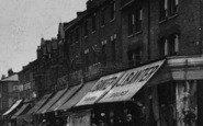 Battersea, Frost's Store, Northcote Road c.1905