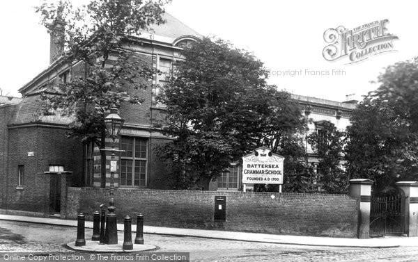 Battersea, Grammar School 1899