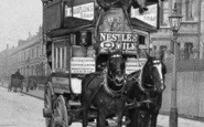Battersea, Horse Bus c.1900