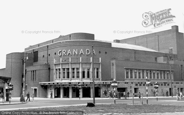 Battersea, St John's Hill, The Granada Cinema c.1955