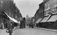 Battersea, St John's Road From Comyns Road c.1913