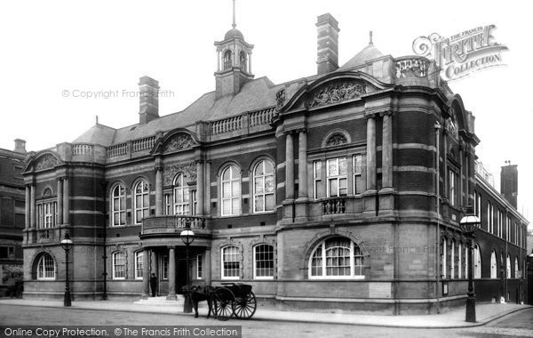 Photo of Battersea, Town Hall 1899