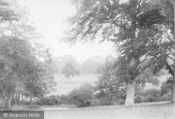 Battle, Abbey From Park 1913
