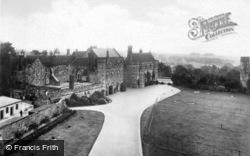 Abbey, From The Gateway c.1930, Battle