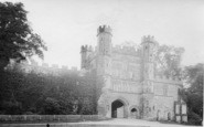 Battle, Abbey Gateway 1913