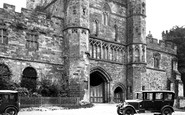 Battle, Abbey Gateway 1927