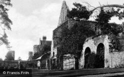Abbey, South Side c.1930, Battle