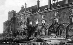 Abbey, The Cloisters c.1930, Battle