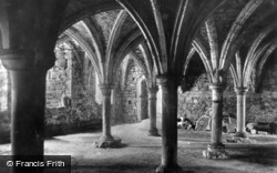 Abbey, The Crypt c.1930, Battle