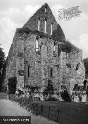 Abbey, The Dormitory Gable End c.1930, Battle