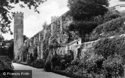 Abbey, The Lower Terrace c.1930, Battle
