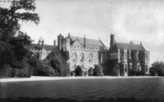 Battle, Abbey, West Front 1910