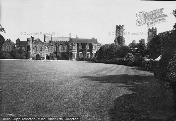 Battle, Abbey West Front And Watch Tower 1910
