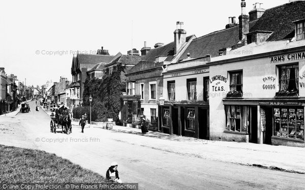 Battle high street 1910