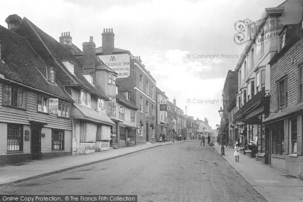Battle, High Street 1921