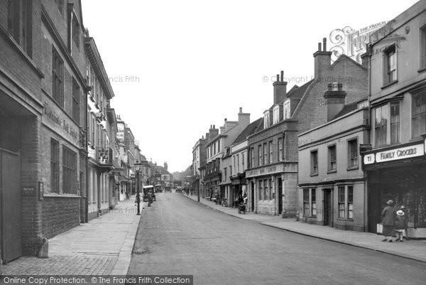 Battle, High Street 1927