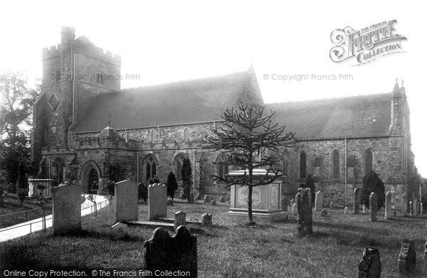 Battle, St Mary The Virgin Church 1890