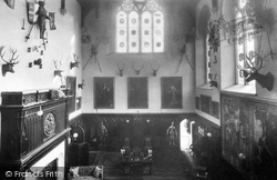 Battle, The Abbey, Abbot's Hall 1910