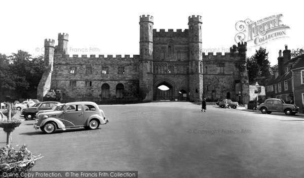 Battle, The Abbey c.1960