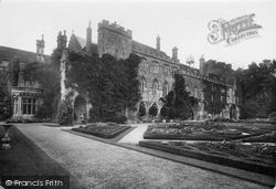 Battle, The Abbey, Front Cloisters 1910