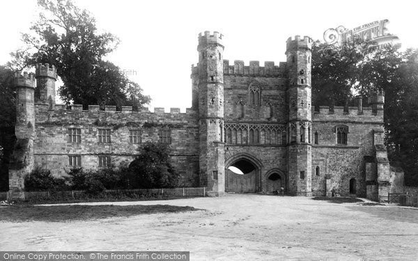 Battle, The Abbey Gateway 1890