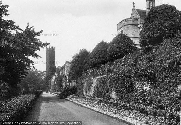 Battle, The Abbey, Lower Terrace 1910