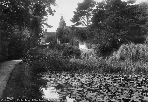 Battle, The Abbey, The Gardens 1910