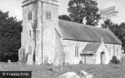 Baverstock, Church 1961