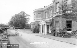 Bawtry, Bawtry Hall c.1955