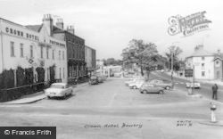 Bawtry, Crown Hotel c.1965