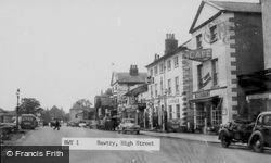 Bawtry, High Street c.1955