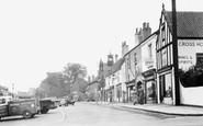 Bawtry, Market Place c1955