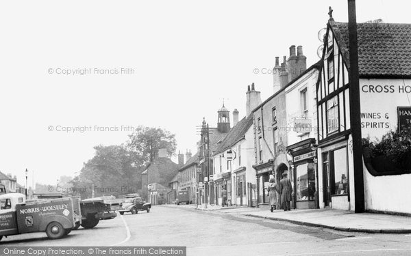 Photo of Bawtry, Market Place c1955