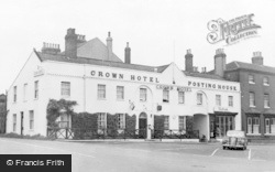 Bawtry, The Crown Hotel c.1955